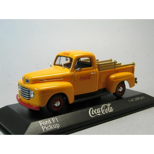 Minichamps 1:43 FORD f1 1949 COCA COLA